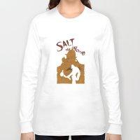 borderlands Long Sleeve T-shirts featuring Borderlands 2 - Salt the Wound by Art of Peach