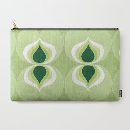 1960`s inspired abstract geometric pattern Carry-All Pouch