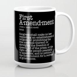 First Amendment Free Speech Constitution Coffee Mug