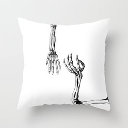 I don't need no body Throw Pillow