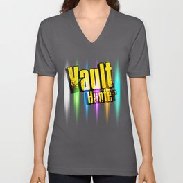 Borderlands Tribute -  Vault Hunter Unisex V-Neck