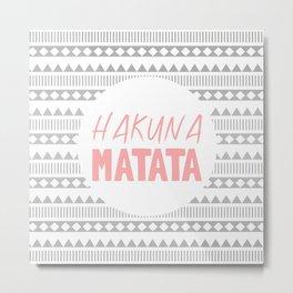 Hakuna Matata II Metal Print