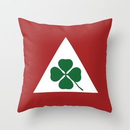 Quadrifoglio Classic Throw Pillow