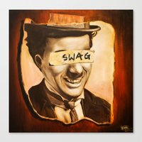 swag Canvas Prints featuring Swag by Corey Lim