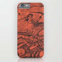 La Guerre (The War) (1895) by Henri Rousseau. iPhone Case