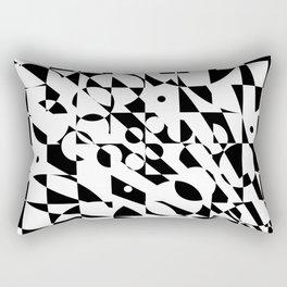 Fractured Structure Rectangular Pillow