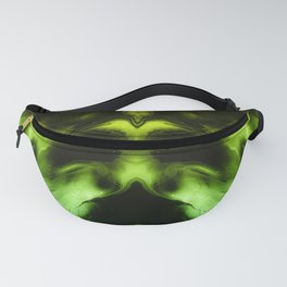 abstract psychedelic paint flow ghost face c3 Fanny Pack