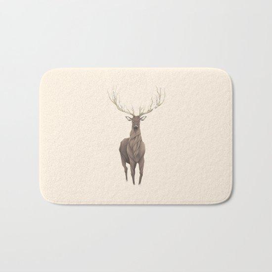 Deer Tree II Bath Mat