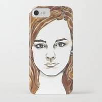 hermione iPhone & iPod Cases featuring Hermione Granger by Boni Dutch