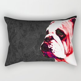 Southern Dawg By Sharon Cummings Rectangular Pillow