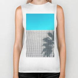 Parker Palm Springs with Palm Tree Shadow Biker Tank