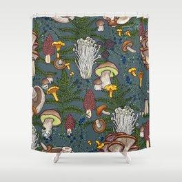 mushroom forest Shower Curtain