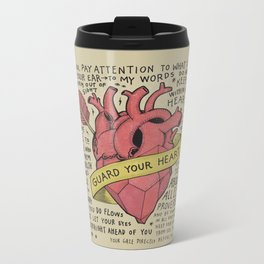 Guard Your Heart Metal Travel Mug