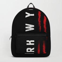 New York American flag Backpack