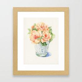 Oldroses Framed Art Print