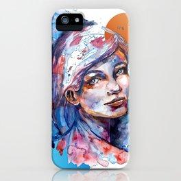 Sophia by carographic iPhone Case