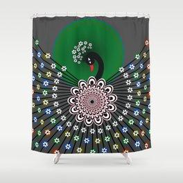 Peacock 5 Shower Curtain