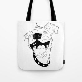 Poe. The Hairless Dog. Tote Bag