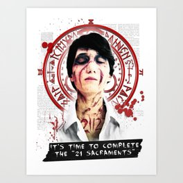"""Silent Hill - It's time to complete the """"21 Sacraments"""" Art Print"""