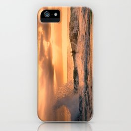 Autumn Wave iPhone Case