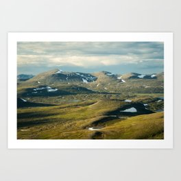 Mountainous I Art Print