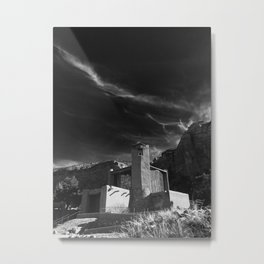 Monastery at Christ in the Desert Metal Print