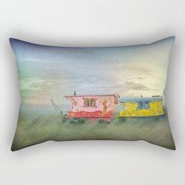 gypsy caravans Rectangular Pillow