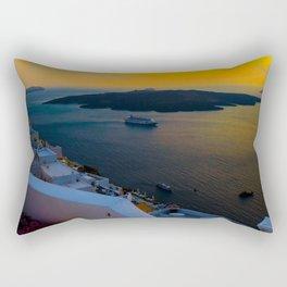 Caldera view Rectangular Pillow