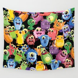 cute monsters Wall Tapestry