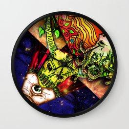 Intergalactic Guardian Constantin Wall Clock