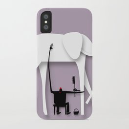 Elephant's trip iPhone Case
