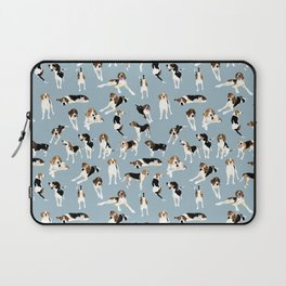 Tree Walker Coonhounds Pattern Laptop Sleeve
