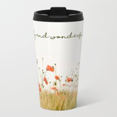 Fearfully and Wonderfully Made Metal Travel Mug