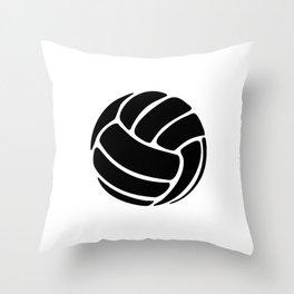 Volleyball Ideology Throw Pillow
