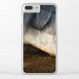 Merchant Seafarer's War Memorial Cardiff Bay Clear iPhone Case