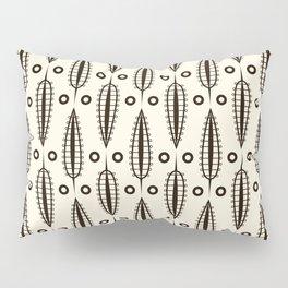 "Art Deco . ""Delicate leaves "". Pillow Sham"