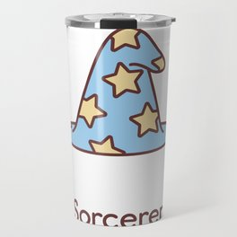 Cute Dungeons and Dragons Sorcerer class Travel Mug