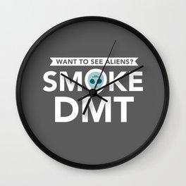 Smoke DMT Wall Clock