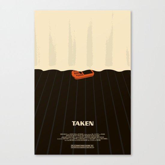 taken. Canvas Print