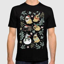 Christmas Pugs T-shirt