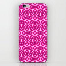 Pink Trefoil iPhone & iPod Skin