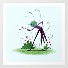 Cricket Art Print