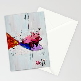 Misadventures of War and Greed Stationery Cards