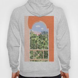 Summer Travel #illustration #tropical Hoody