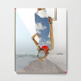 atmosphere · weniger ist mehr Metal Print