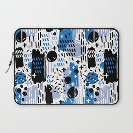 Blue Memphis Laptop Sleeve