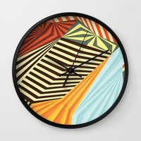 positive Wall Clocks featuring Yaipei by Anai Greog