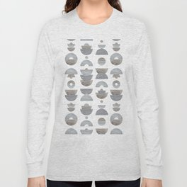 semicircle pattern Long Sleeve T-shirt