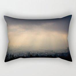 Fogged over Budapest Rectangular Pillow