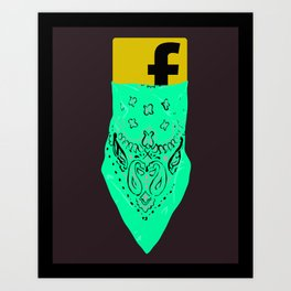 Privacy Setting Art Print